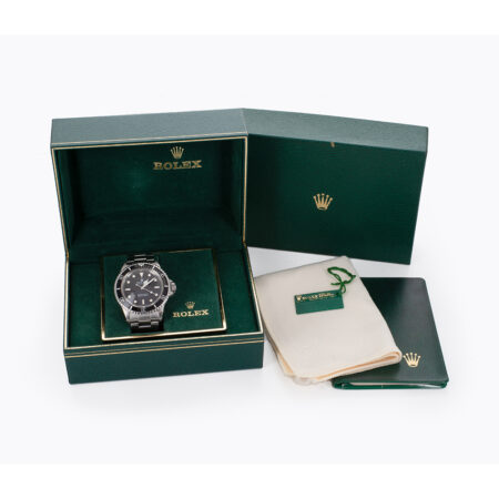 1988 Rolex Submariner (5513) Box and Papers