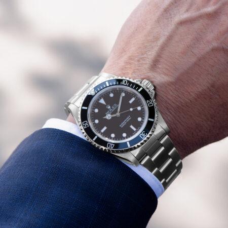 Rolex Submariner Wrist Shot