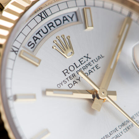 Rolex Day-Date Silver Dial