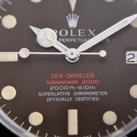 """Rolex Tropical Dial Sea-Dweller """"Double Red"""""""