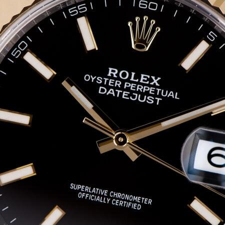 Rolex Datejust 41 Black Dial