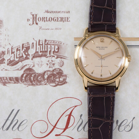 Vintage Patek Philippe Calatrava Extract from the Archives