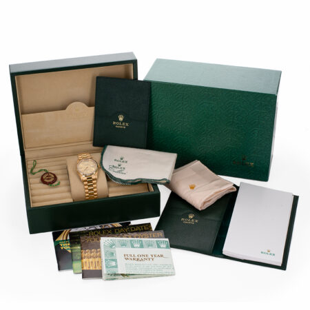 Rolex Day-Date Box and Papers