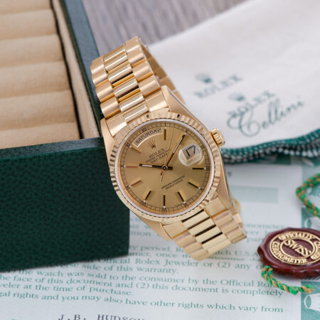 Rolex Day-Date 36 Papers
