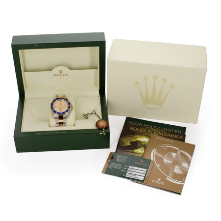 Rolex Submariner Box and Papers