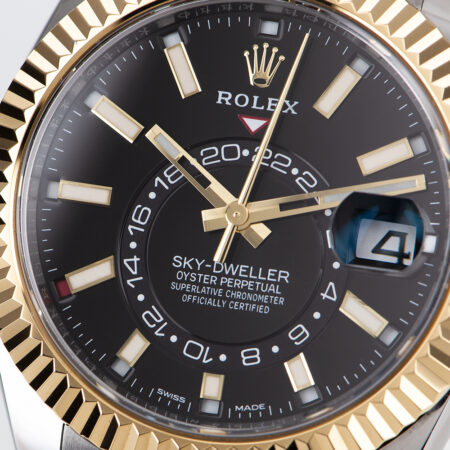 Rolex Sky-Dweller Black Dial