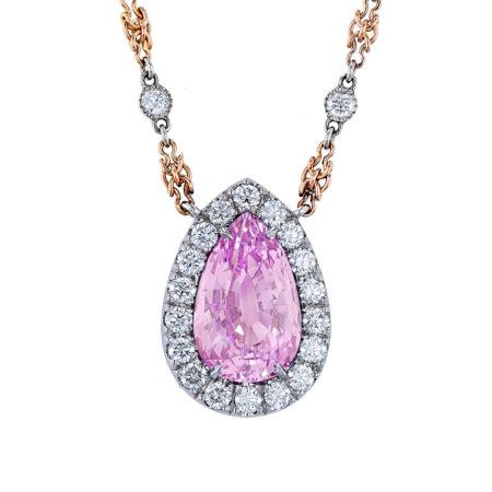 Lavender Spinel Necklace