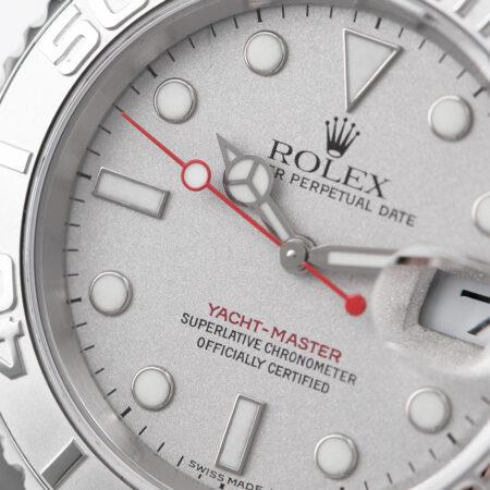 Rolex Yacht-Master Platinum Dial