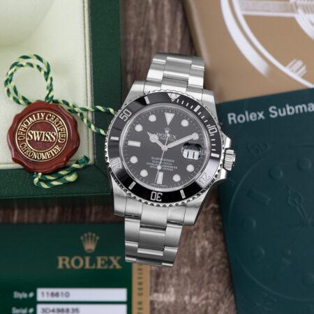 2012 Rolex Submariner Date (116610LN)