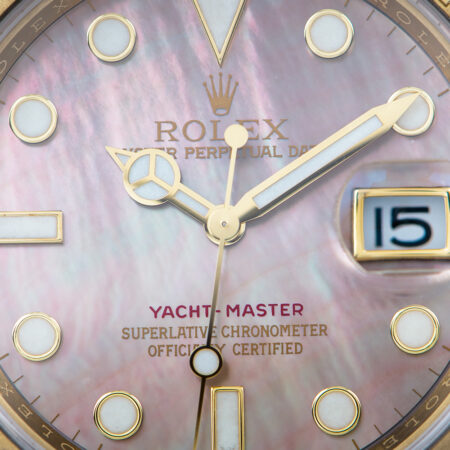 Rolex Yacht-Master 40 (16628) Mother-of-Pear Dial