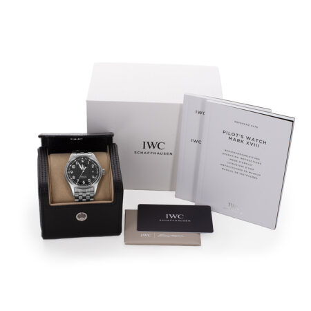 IWC Pilot's Watch Box and Papers