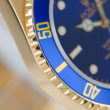 Vintage Rolex Submariner Date Bezel