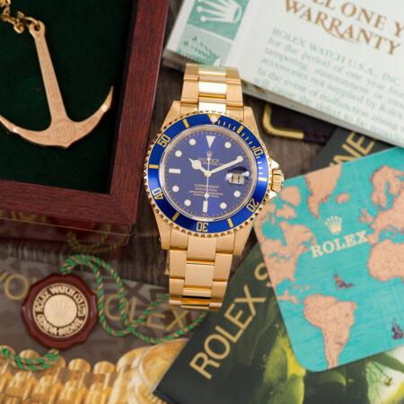 Vintage Rolex Submariner Date (16618)