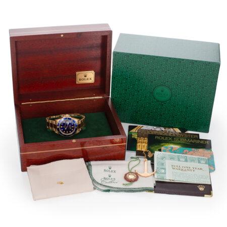 1996 Rolex Submariner Date (16618) Box