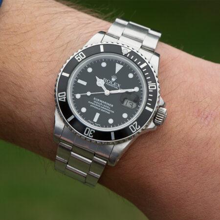 Vintage Rolex Submariner Date Lifestyle Shot
