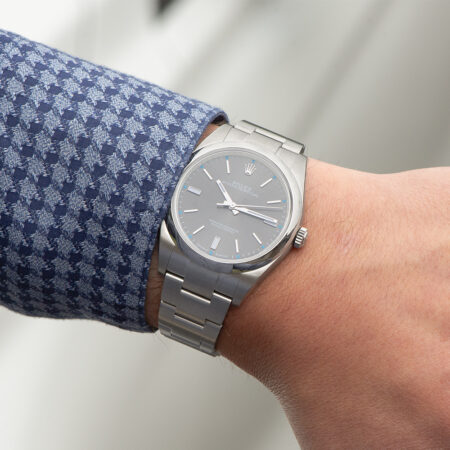 Rolex Oyster Perpetual Lifestyle Shot